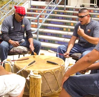 Drum played by WNMU Native American Club member donated to Smithsonian