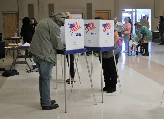 Otero County election officials expected a high voter turnout for Tuesday's election because of the high volume of early voter turnout for the 2018 midterm elections.