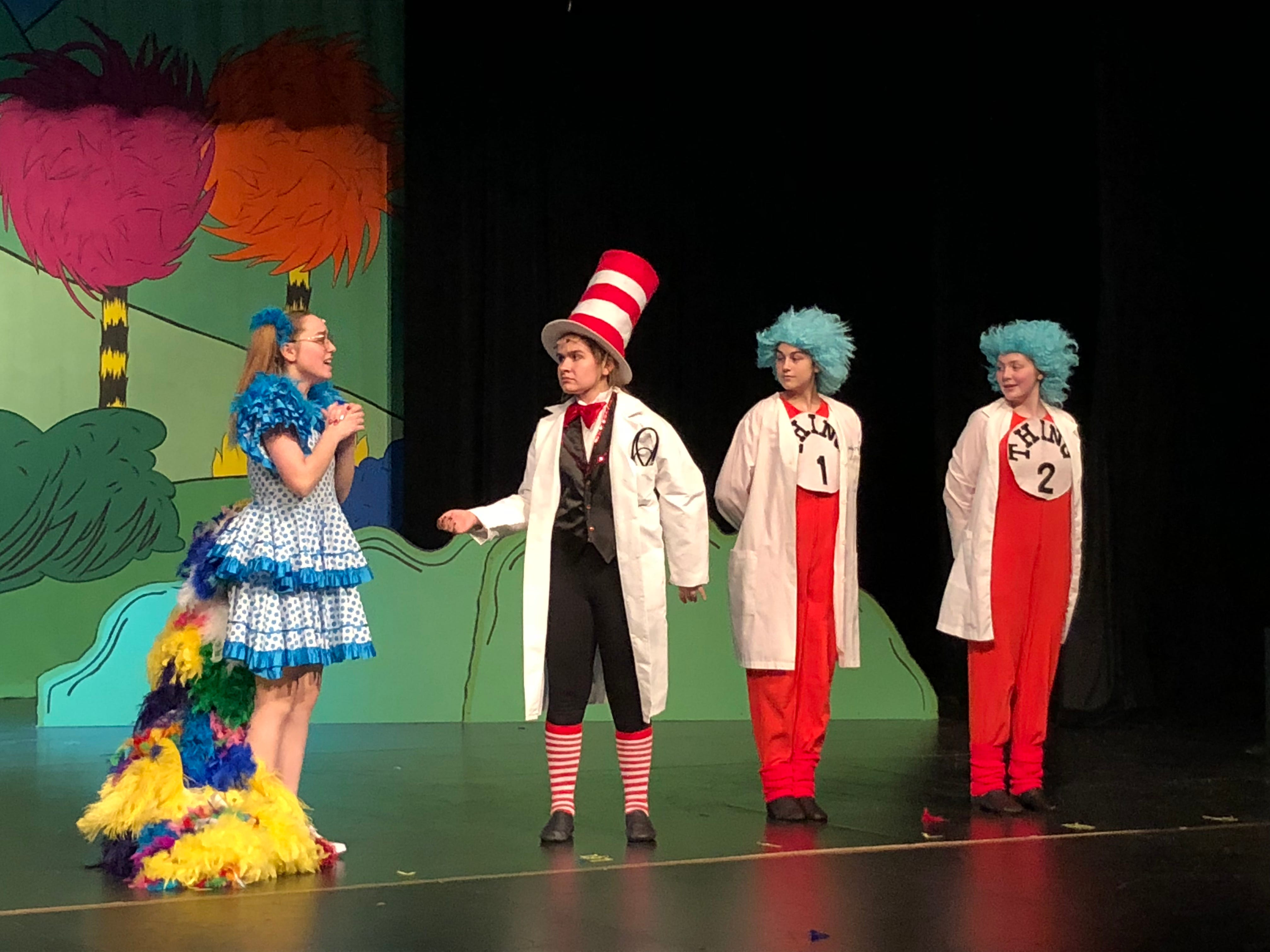 Franklin gets musical in production of 'Seussical'