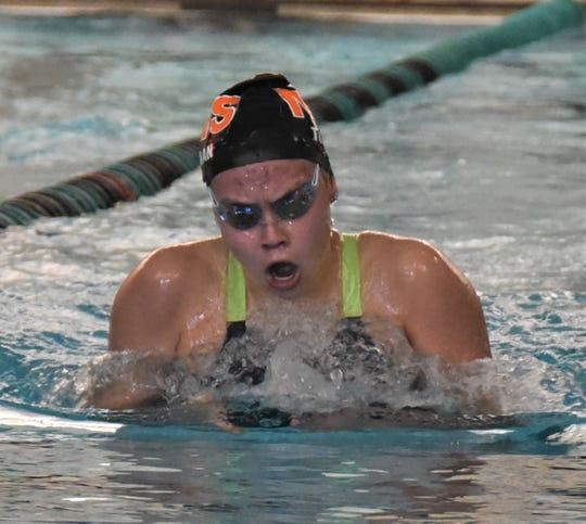 Northville's Sophia Tuinman was the KLAA's 200-yard individual medley champion.