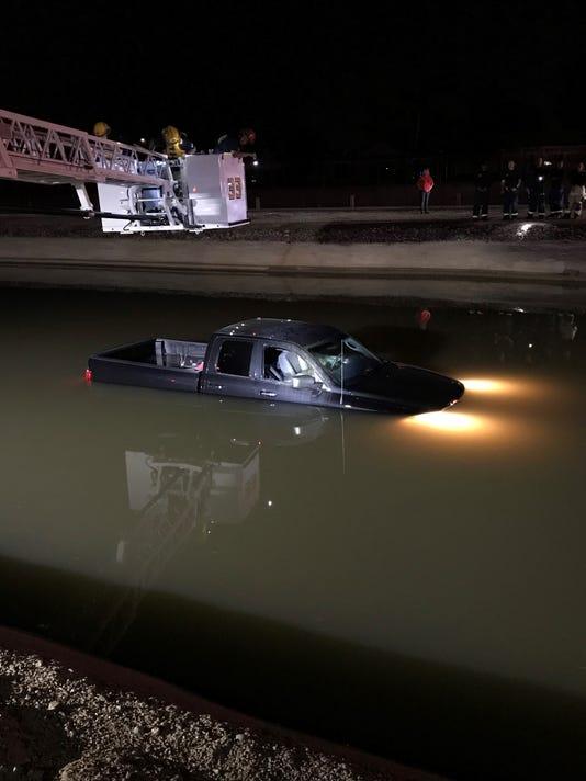 Truck Found In Canal In Phoenix