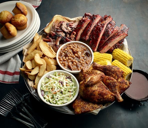 Famous Dave's | Nov. 11-12, enjoy the free Two Meal Salute meal that includes a choice of two meats and is served with a corn bread muffin and one side. | Details: 1011 N. Dobson Road, Mesa. 480-615-1444. Also, 16148 N. 83rd Ave., Peoria. 623-979-3706. Other locations at famousdavesbbq.com.