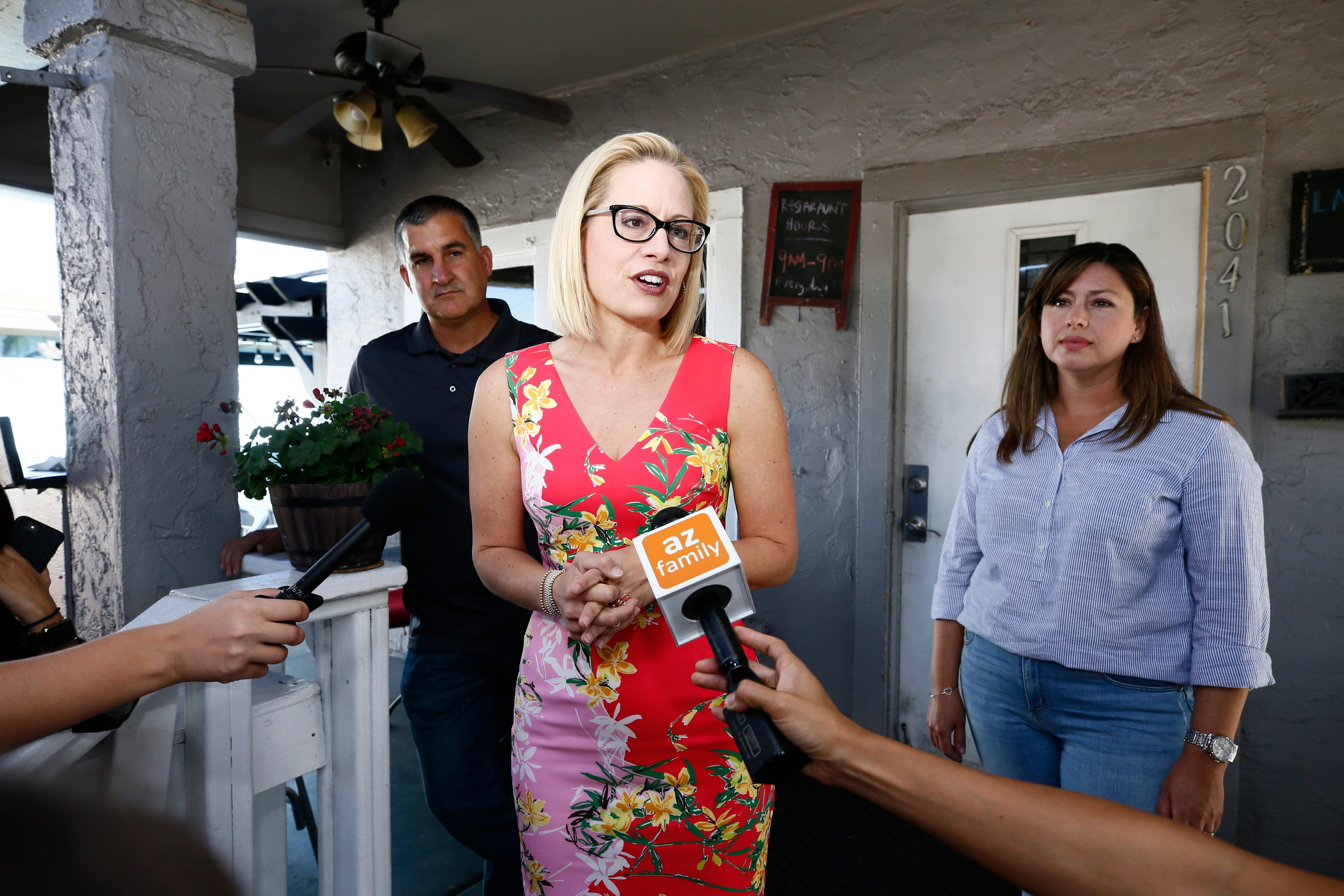 Kyrsten Sinema's lead over Martha McSally widens in roller-coaster U.S. Senate race to replace Jeff Flake | AZ Central