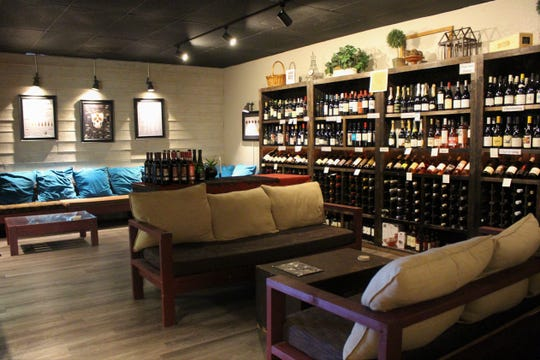 Tempe's Bottleshop 48 includes a separate wine room where guests can order light snacks to enjoy with a bottle of wine.