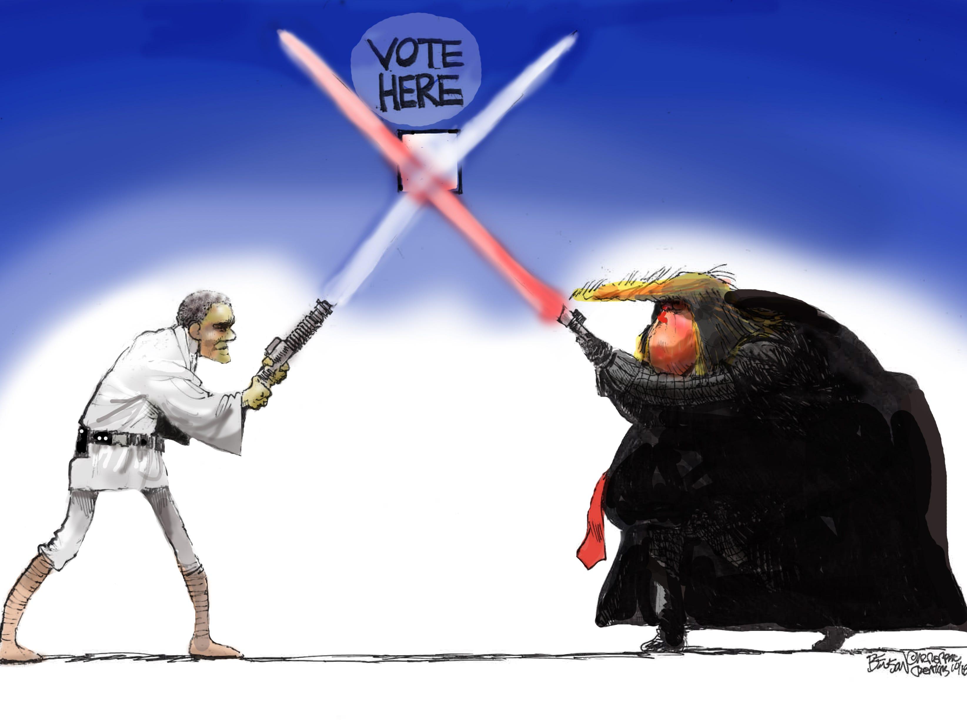 Cartoon for Nov. 6, 2018.
