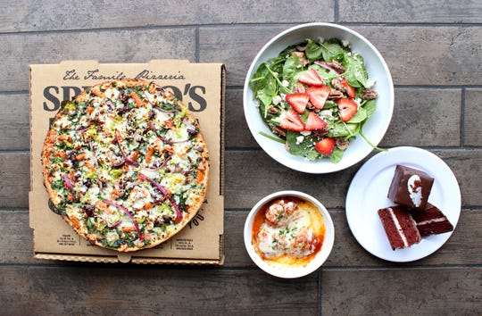 Spinato's newest location offers everything from warm sandwiches to their signature pies.