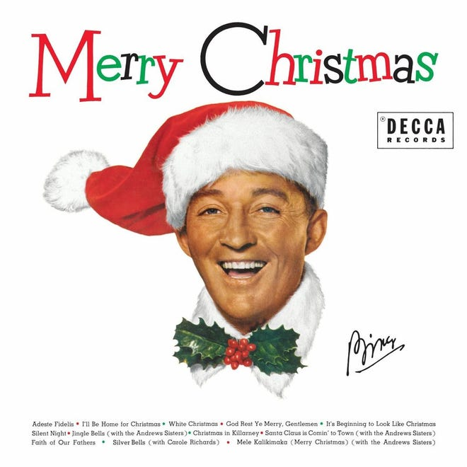 """Bing Crosby's """"Merry Christmas"""" will make you think of the holidays."""