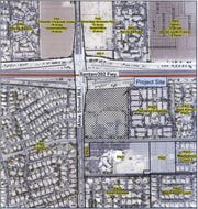 Banner Health is proposing to build a four-story hospital with 96 beds on Alma School Road south of Loop 202.