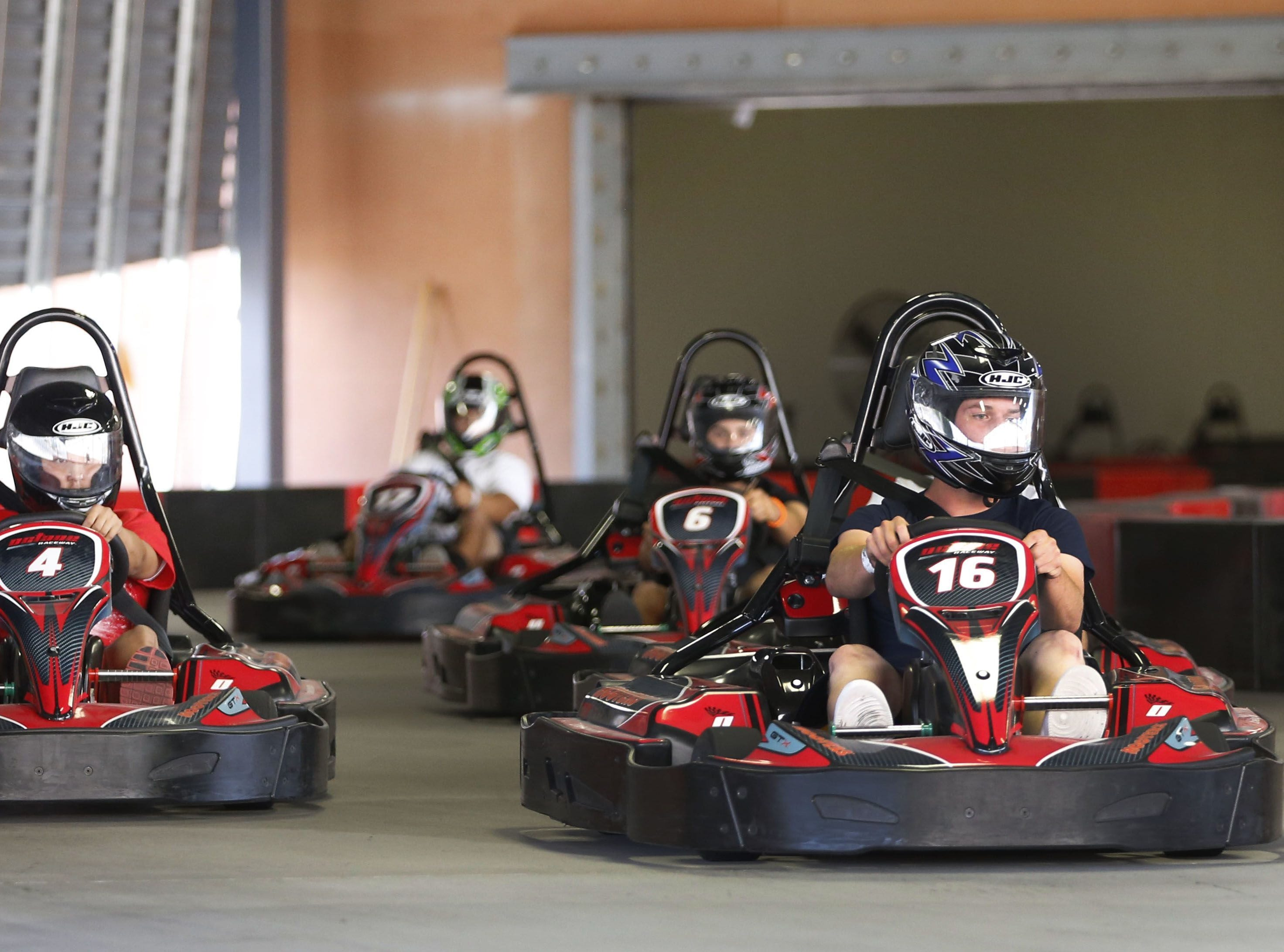 Octane Raceway | Nov. 11, get half-off all appetizers and $10 off a Velocity VR session. | Details: 9119 E. Talking Stick Way, Scottsdale. 602-302-7223, octaneraceway.com.