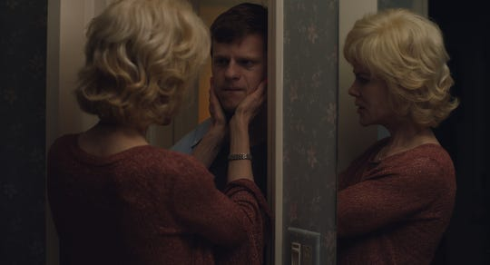 """In """"Boy Erased,"""" Nancy (Nicole Kidman) tries to console her son (Lucas Hedges)."""
