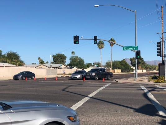 Dead woman, injured man found in Mesa