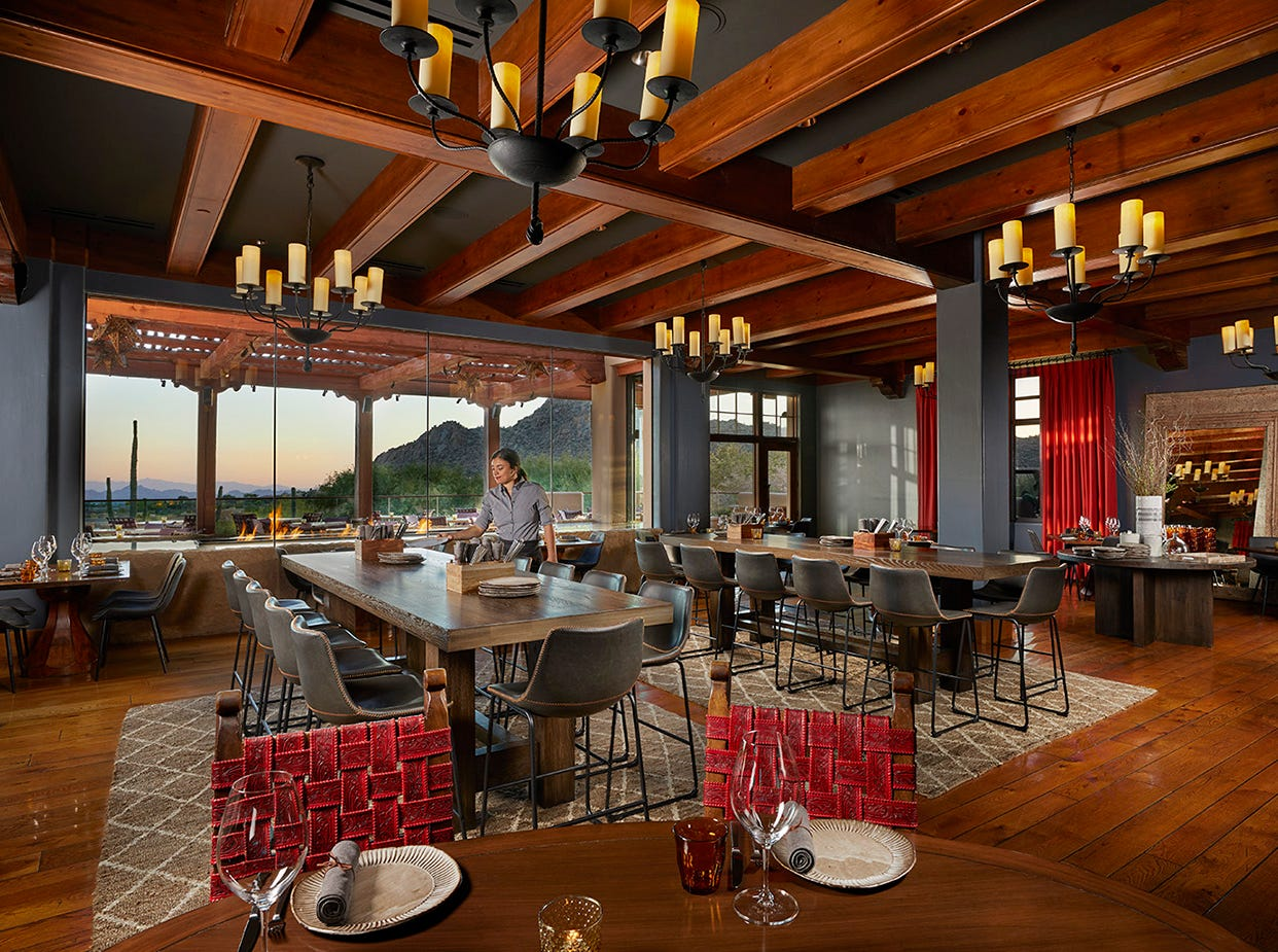 The Four Seasons Resort Scottsdale at Troon North has re-imagined its restaurant Talavera. Once a steakhouse, the restaurant now serves a Spanish-concept menu.