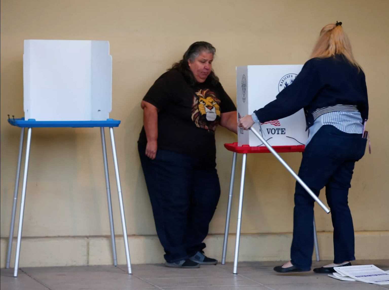 Desde muy temprano, los arizonenses respondieron al llamado y salieron a ejercer su voto en los diferentes puntos electorales en todo el estado, para elegir a sus gobernantes en las elecciones de medio término, el 6 de noviembre, 2018.