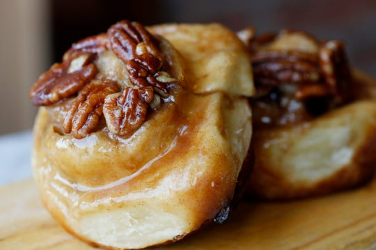 Sticky buns from McKinney & Doyle Fine Foods in Pawling on October 31, 2018.