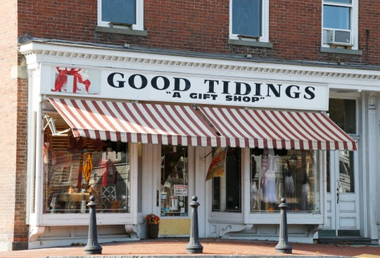 Good Tidings gift shop in Pawling on October 31, 2018.