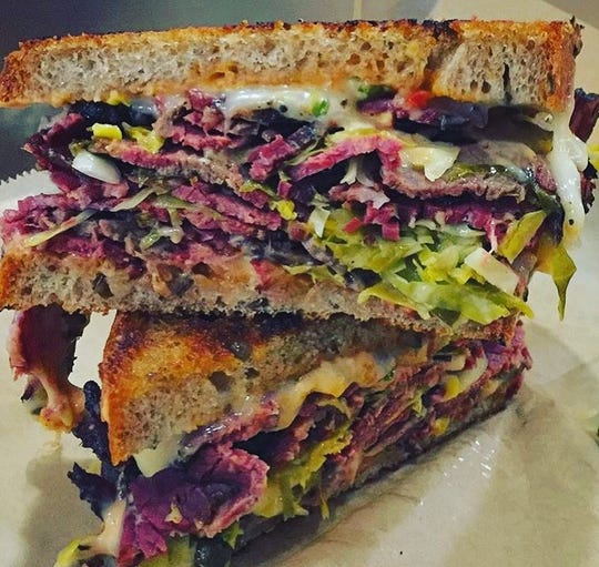 Lisa Hall and Chris Pascarella are also the proprietors of Marbled Meat Shop in Cold Spring, so it's no surprise that their Stock Up restaurant and deli in Beacon is known for its sandwiches featuring classic roast beef and fried chicken.