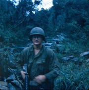 Bob Smoker of York served in Vietnam from October 1969 to October 1970, a member of the 101st Airborne's Charlie Company.