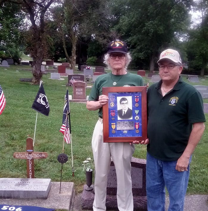 'Their memories stay alive through us': York Vietnam veteran travels to honor the fallen