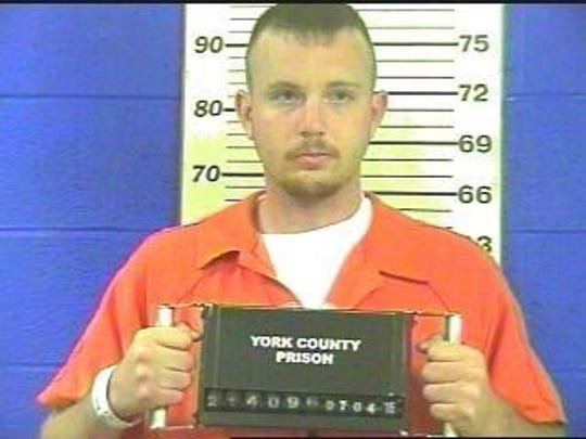 Patrick Guyer at York County Prison in July 2016.