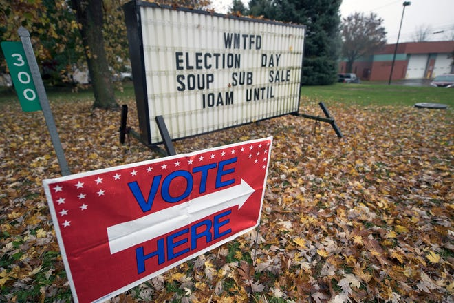 The West Manchester Township Fire Department held a soup and bake sale on Election Day.