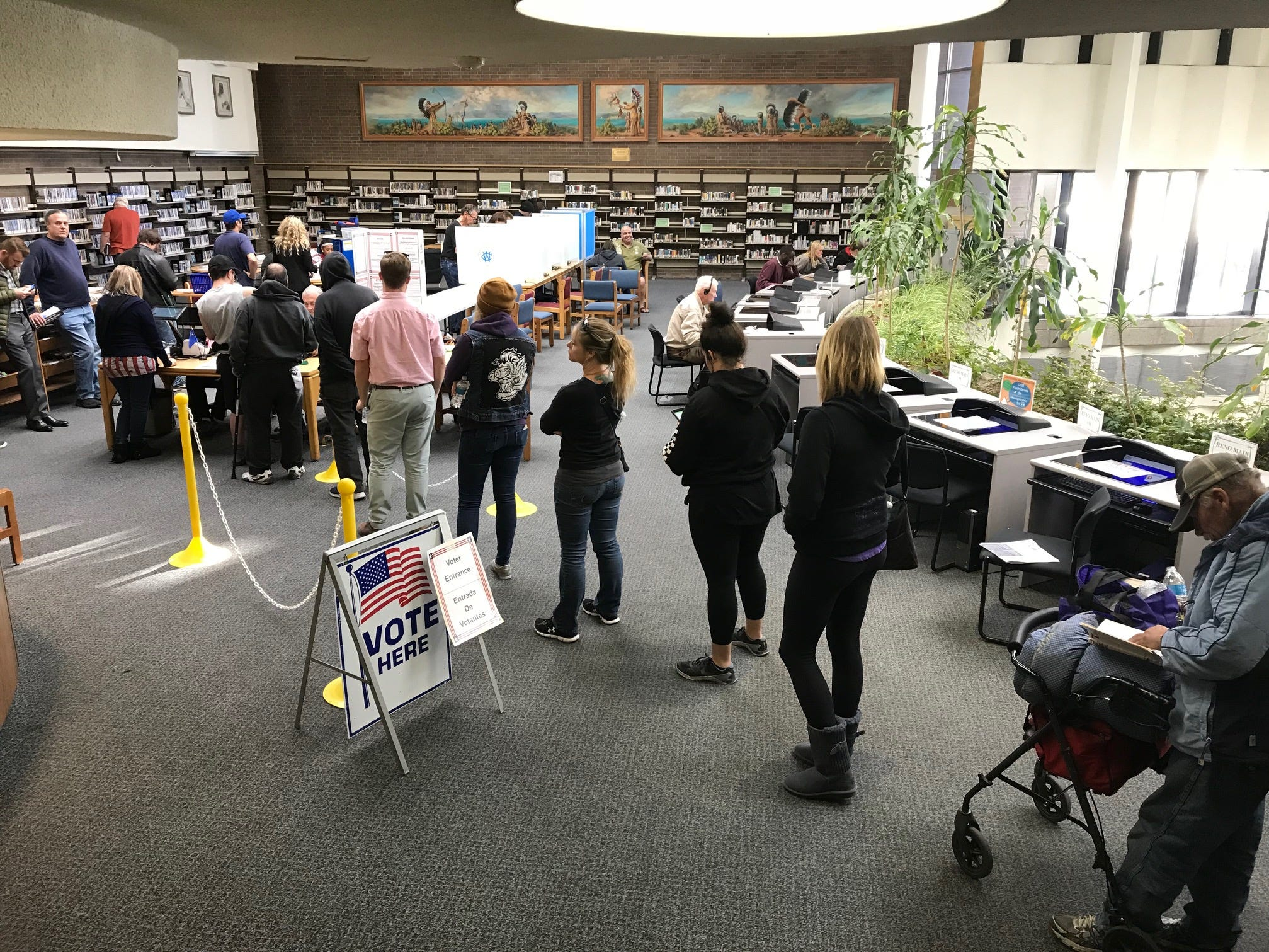 Nevada election officials: No truth to NV GOP chair's unfounded voter 'shenanigans' claim