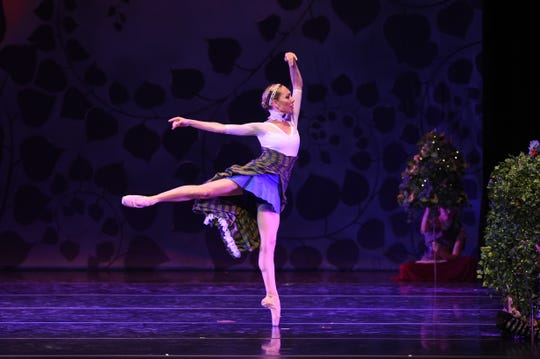 """Terrin Kelly in Sierra Nevada Ballet's """"A Midsummer Night's Dream -- A Steampunk Version"""" at the Pioneer Center for the Performing Arts on August 5, 2018."""
