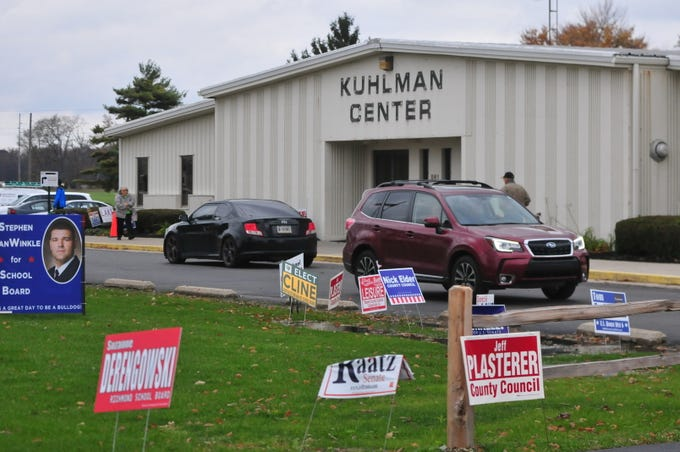 Wayne County voters participated in the general election Tuesday by voting at the vote center in Kuhlman Center at the Wayne County Fairgrounds.