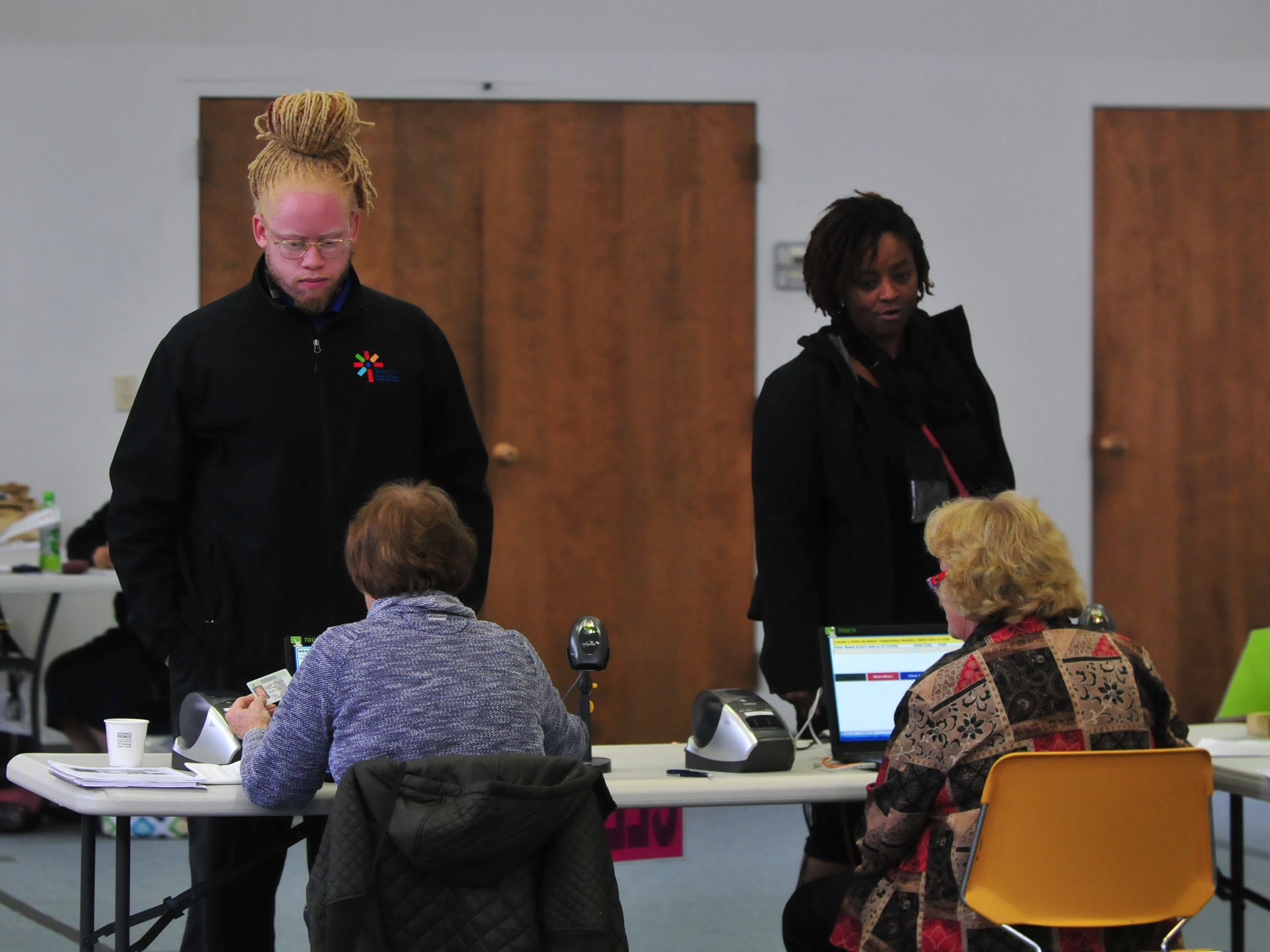 Wayne County voters participated in the general election Tuesday by voting at the vote center at First Baptist Church in Richmond.