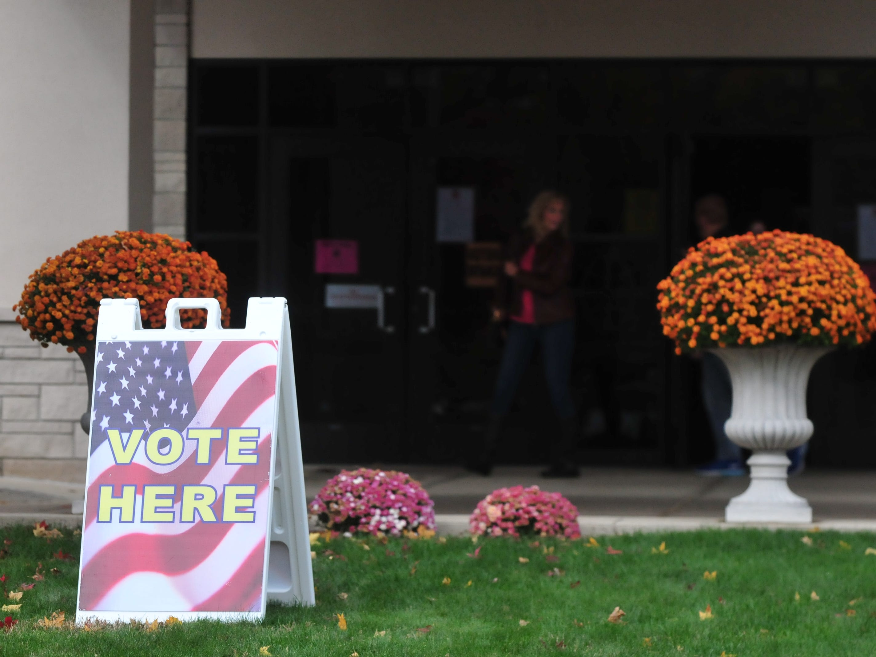 Wayne County voters participated in the general election Tuesday by voting at the vote center at First English Lutheran Church in Richmond.