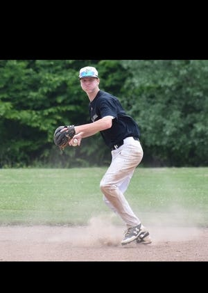 Casey Saucke, a sophomore at Greece Athena, has made a verbal commitment to play baseball at the University of Virginia.