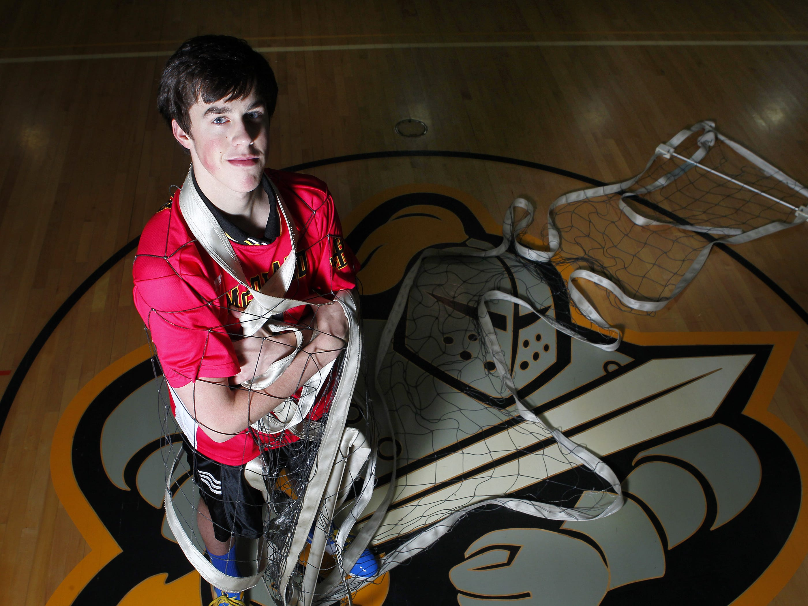 McQuaid Jesuit's Steve O'Dell was named AGR Player of the Year as the Knights won state titles in 2010 and 2011.