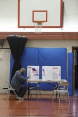 Voters, like this one in Webster, Monroe County, would be permitted to get Board of Elections alerts via email under a bill awaiting Gov. Andrew Cuomo's signature.