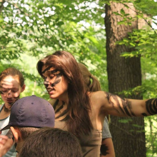 Cray and students get into wilderness mode.