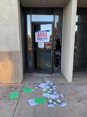 The Merced office of Anna Caballero's campaign for Senate was broken into the night before elections, her office says.