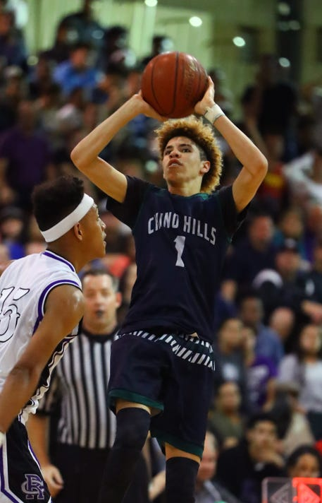 High School Basketball Chino Hills At Rancho Cucamonga