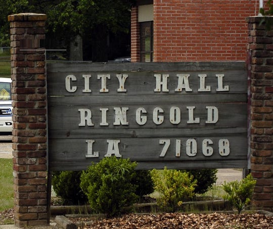 Ringgold City Hall sign