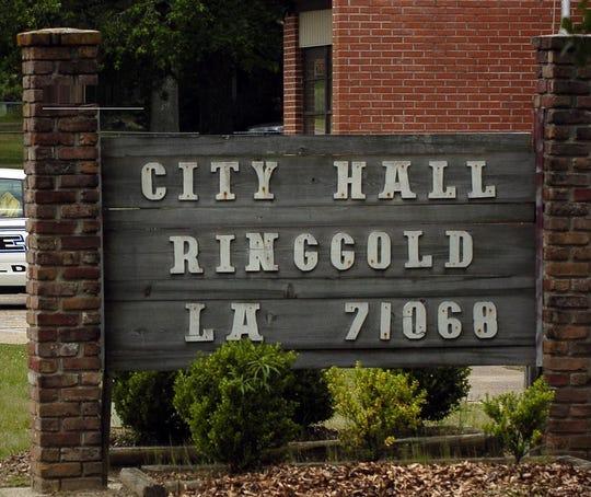 Ringgold City Hall sign