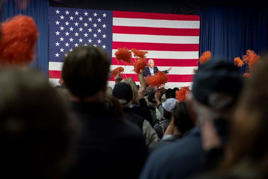Mike Pence speaks at a Rapid City rally on Nov. 5, 2018.