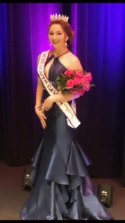 Morgan Wilson was crowned Miss South Dakota International 2019 on Oct. 21 in Sioux Falls. Her mother, Tina Wilson, was crowned Mrs. South Dakota International 2019.