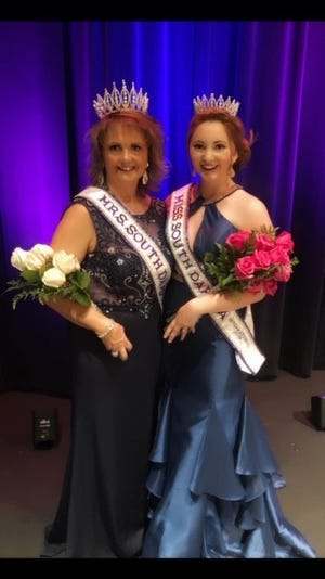 Mother and daughter Tina Wilson and Morgan Wilson were crowned Mrs. and Miss South Dakota International 2019, respectively, Oct. 21 in Sioux Falls.