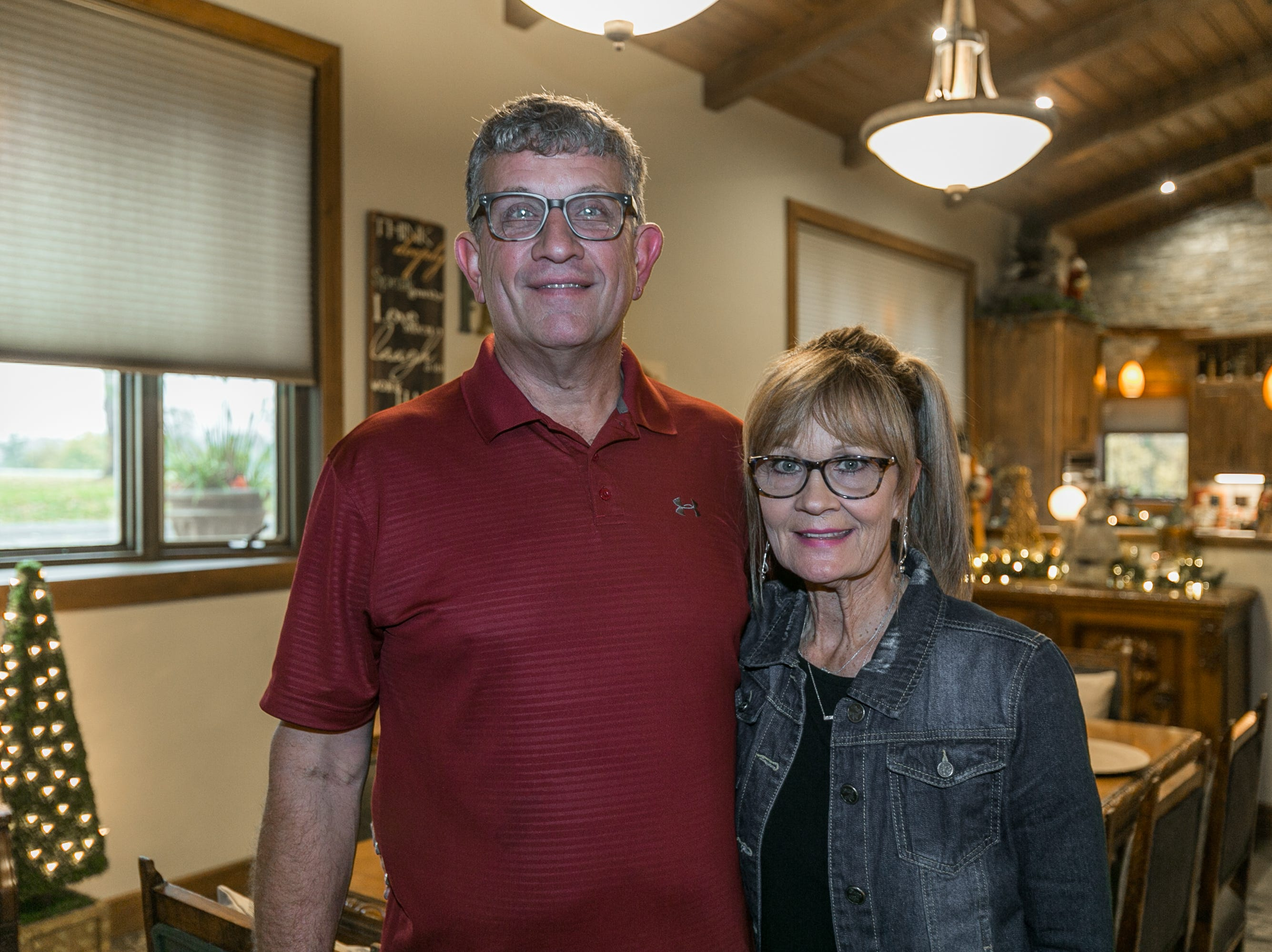 Sharon and Phil Noah lived in their home throughout the two-year renovation process.