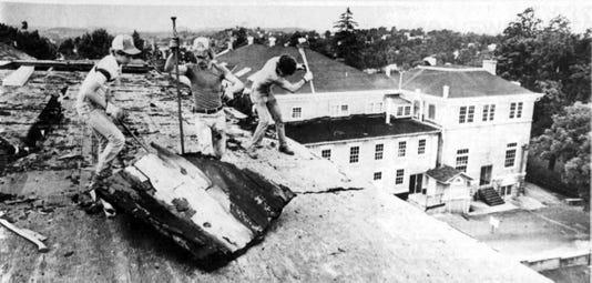 North Barracks Demolished