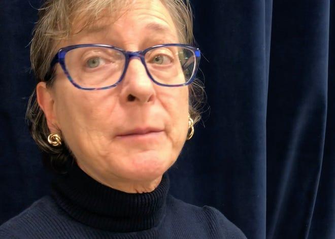 Dinah Gottschalk, election poll watcher in Waynesboro.