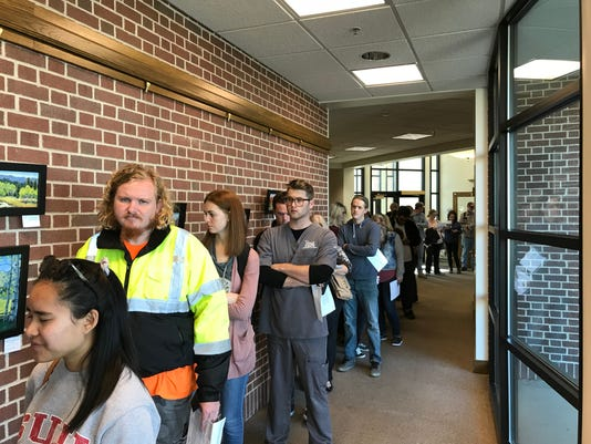 Iron County City Hall Voting