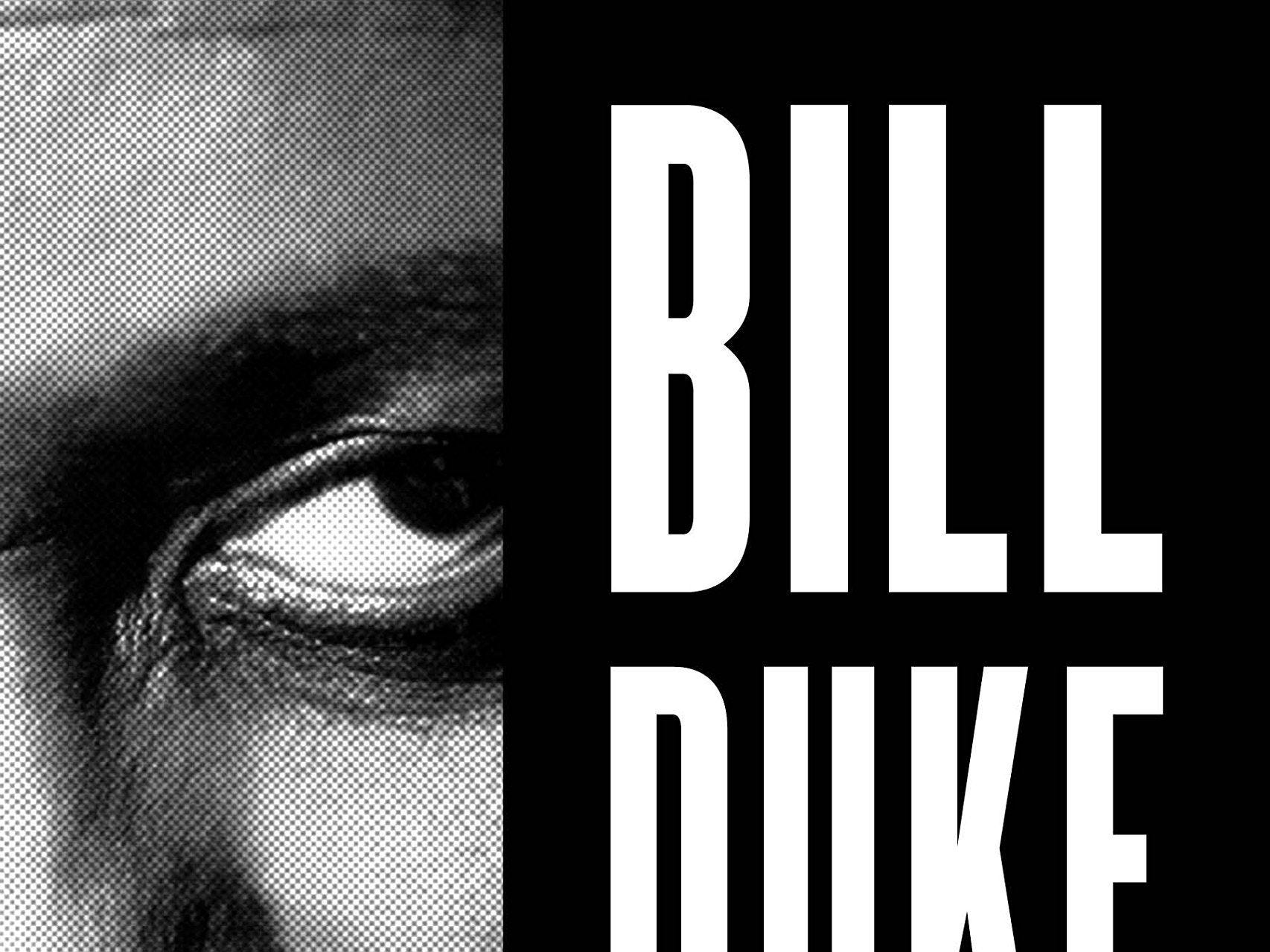 """""""Bill Duke: My 40-Year Career On Screen and Behind the Camera"""" comes out in November."""