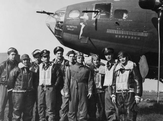 Hop in the cockpit with the crew when William Wyler's documentary about The Memphis Belle is shown Friday at FSU.
