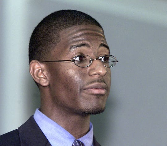 File photo of FAMU SGA President Andrew Gillum from 2002.