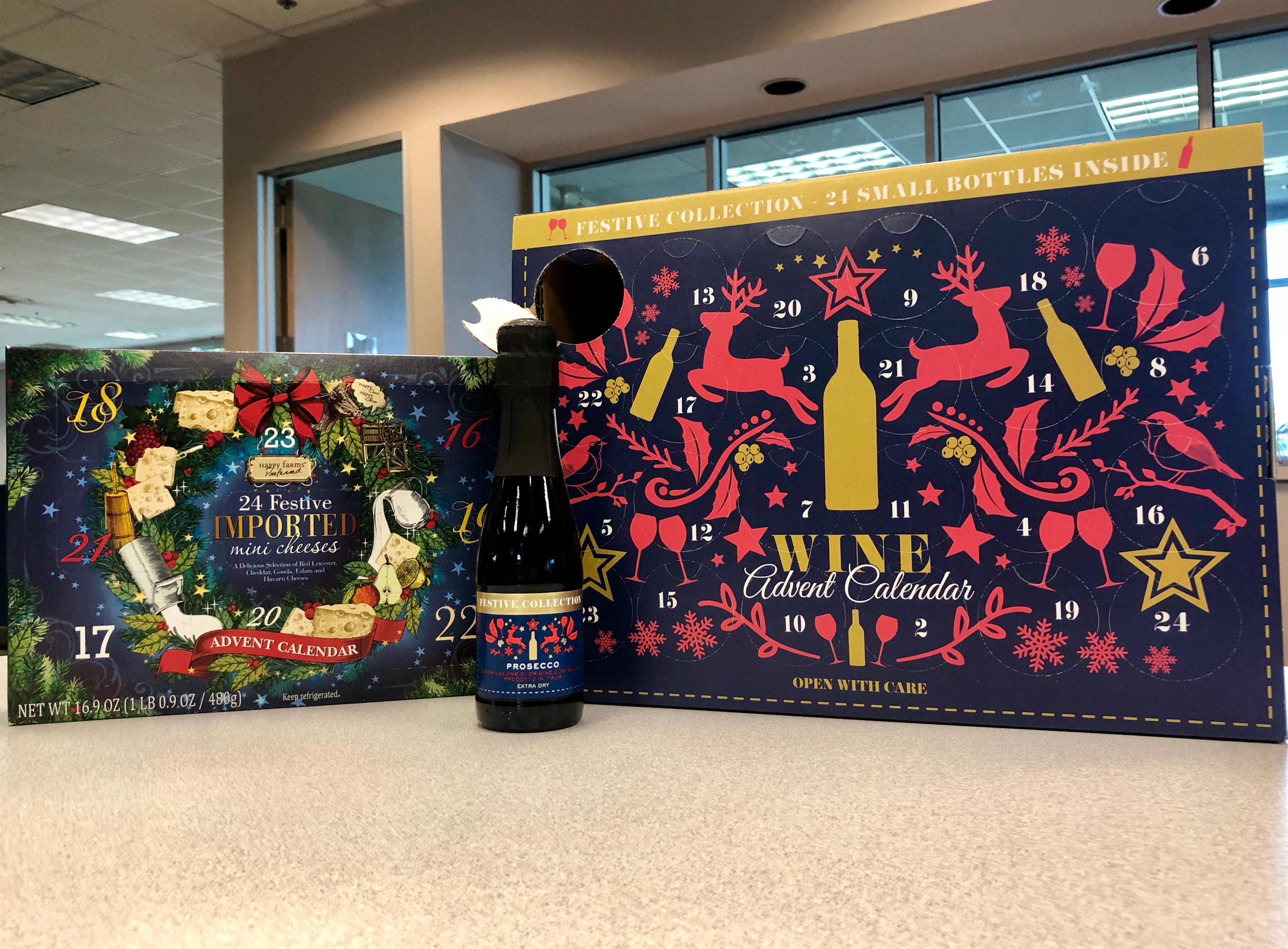 aldi wine and cheese advent calendars go on sale wednesday. Black Bedroom Furniture Sets. Home Design Ideas