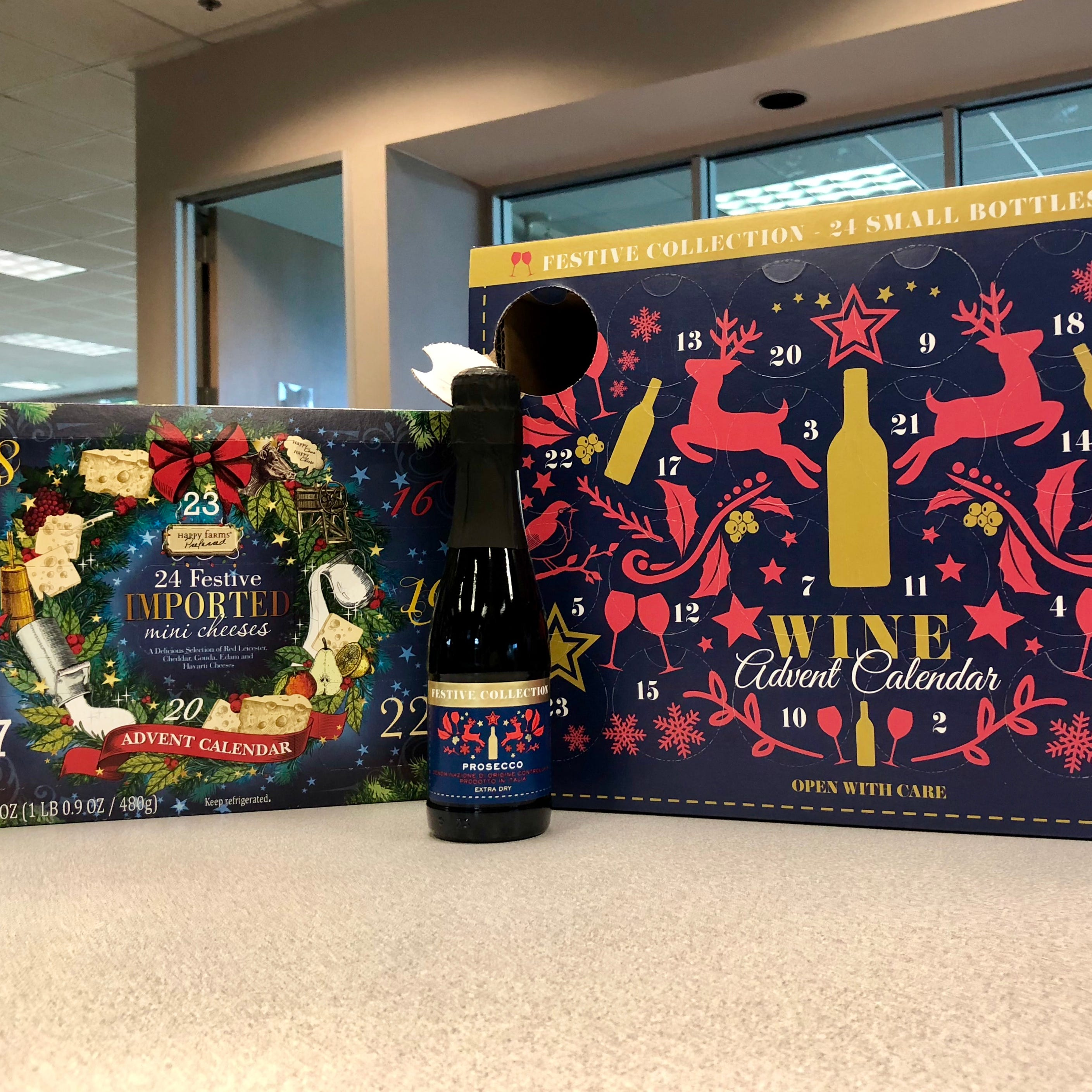 Aldi wine, cheese Advent calendars go fast but others still available at some locations