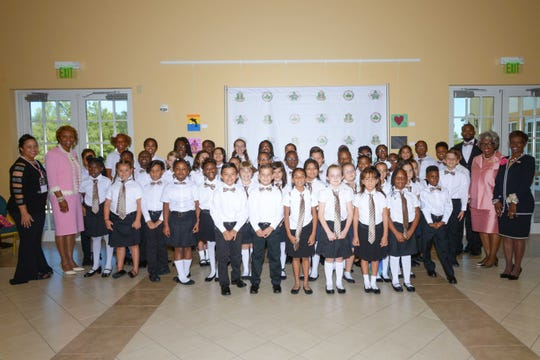 Frances K. Sweet Magnet School's Sweet Sounds and Percussion X team performed a mid-day show at the Alpha Kappa Alpha Sorority Cluster I conference in Port St. Lucie.